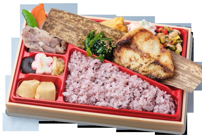 キンキの京味噌漬け焼き+選べるお肉弁当